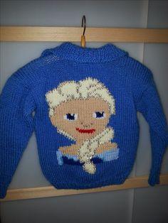 achterkant kindervest Elsa