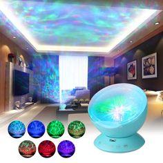 Kaufen Sie am besten blau Multicolor Ocean Wave Light Projektor Nightlight mit Mini-Musik-Player für Wohnzimmer und Schlafzimmer Neuheit Baby Lamp Blue von Tomtop.com. Kaufen Sie billig und hochwertig Smart Home Light online, verschiedene Rabatte warten auf Sie.