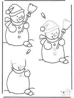 Photo by Xmas Preschool Spanish, Christmas Arts And Crafts, Winter Season, Coloring Pages, Snowman, Minnie Mouse, Disney Characters, Fictional Characters, Snoopy