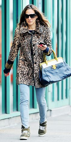 Celebrity Trend: Chic Sneakers - Sarah Jessica Parker from #InStyle