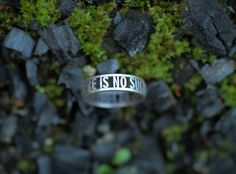 "New photo of an old design. ""no such thing... ring"""