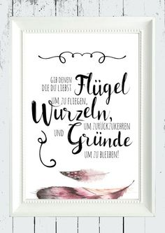 Poster Mit Weisem Spruch Uber Freundschaft Wandgestaltung Poster With Wise Saying About Friendship Wall Decor Made By Homestyle Accessoires Via Dawanda