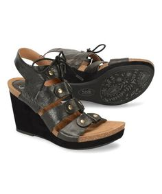 7b42335b56e Image of Sofft Altessa II   Black - Womens. See More. Love this Black  Carita Leather Sandal on  zulily!  zulilyfinds