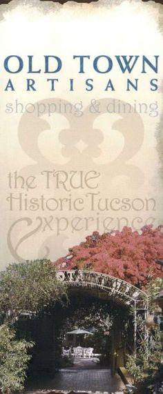 #OldTownArtisans in #Tucson #AZ #Brochure #Travel #Shopping