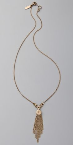 Madewell vintage pendant necklace, $28