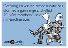 Hmm.. Gun Rights #NRA