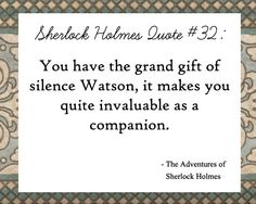 This is one of my favorite quotes from Sherlock Holmes. Sherlock Holmes Quotes, Adventures Of Sherlock Holmes, Sherlock Bbc, Sherlock Decor, Words Quotes, Wise Words, Sayings, Qoutes, Random Quotes