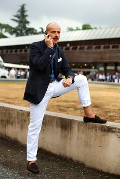 white, navy, blue, loafers...all day