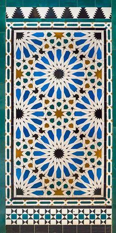 Seville Alcazar Tile Wall