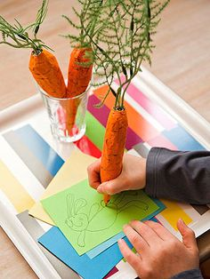 Welcome the arrival of spring with these easy-to-make paper crafts for kids.