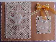 Made by Eileen Scates design adapted from Gilly Howe Parchment Craft, Craft Supplies, Card Making, Easter, Cards, Inspiration, Gallery, Design, Biblical Inspiration
