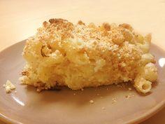 פשטידת פסטה Pasta Recipes, Dessert Recipes, Desserts, Pasta Pie, Macaroni And Cheese, Ethnic Recipes, Food, Tailgate Desserts, Deserts