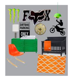 """""""motocross nursery"""" by erin-bright on Polyvore featuring interior, interiors, interior design, home, home decor, interior decorating, Worlds Away, &Tradition, Modernica and Conran"""