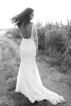 The LANE's The Wanderer Editorial / Megan Gale / Bo & Luca Gown
