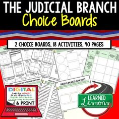 Crossword Puzzle Icivics Judicial Branch In A Flash ...