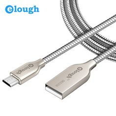 3.39$  Buy here - Elough 2.4A Fast Charger Metal Micro USB Cable For iPhone 6 Samsung s6 s5 Meizu Mobile Phone Charging Data Cord Micro USB Cable   #buyonline
