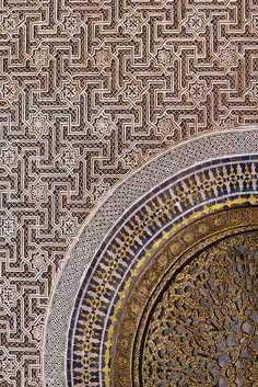 Exotic Moroccan patterns
