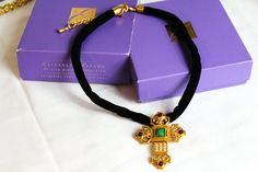 Elizabeth Taylor Katharina Cross Necklace / by Jewelrin on Etsy #Elizabeth_Taylor_necklace