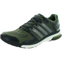 3f11bf2d7ed9d Google Express - Adidas Men s Adistar Boost M Esm Black Olive Green Running  Shoe (