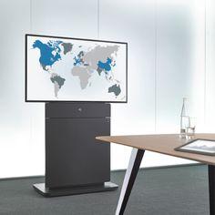 Medienstele_W8 von Holzmedia. Desk, Table, Furniture, Home Decor, Simple, Timber Wood, Desktop, Decoration Home, Room Decor