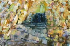 Mountain Grotto II by Connie Miller Oil ~ 24 x 36