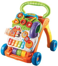 VTech Sit-to-Stand Learning Walker #baby #holidays #gifts #YoYoHotToys
