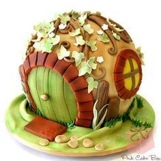 Hobbit hole cake YES  I love pop culture