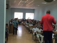 Teaching in a Sunday Church Congregation in the city of Azov, Russia #3 - 9.6.15