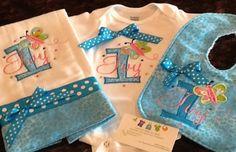 Custom bib, burp, and matching onesie $40 Order: bethbier@aol.com facebook.com/SpecialJEMsbyBeth