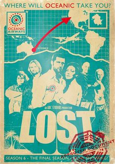 John Eeevson Lost poster