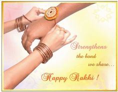Raksha Bandhan - Celebrating the sacred bond of brother and sister.