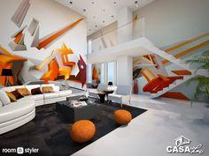 Daim Graffiti Room (Living room) Exemplo de utilização do Graffiti na decoração de uma sala Daim Graffiti, Graffiti Room, Coffee Shop Design, Graffiti Styles, Found Art, My Living Room, Interior Architecture, Street Art, Visual Arts