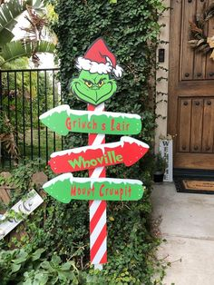 Best Indoor Garden Ideas for 2020 The number of internet users who are looking for… Whoville Christmas Decorations, Grinch Decorations, Grinch Christmas Party, Christmas Garden, Christmas Wood, Christmas Themes, Merry Christmas, Diy Christmas Yard Art, Grinch Who Stole Christmas