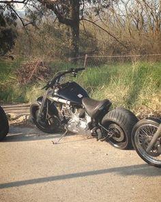 "Harley Davidson Softail ""Bucephalus"" '10 - 24.500 EUR (Συζητήσιμη)"
