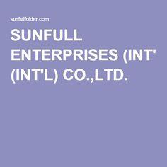 SUNFULL ENTERPRISES (INT'L) CO.,LTD.