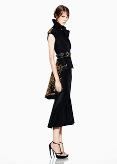 Alexander McQueen Resort 2012 Collection - Fashion | Popbee