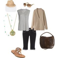 """""""easy summer layering"""" by brandy-michelle-ott on Polyvore"""