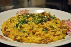 Receita de risoto de carne seca e abóbora do blog Eu Já Comi. Aprenda a fazer esse risoto delicioso e com um temperinho mineiro!