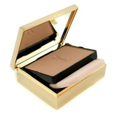 A compact foundation with a mirror and sponge to aid in application. Lift up the powder compartment to find the sponge, take the sponge out and replace the powder compartment. rub the sponge into the powder then apply onto the face using the sponge. Work from the center of the face outwards, do not work down the face as it encourages fine lines and wrinkles, work up the face instead.