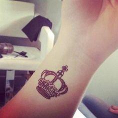#Crown #Tattoo