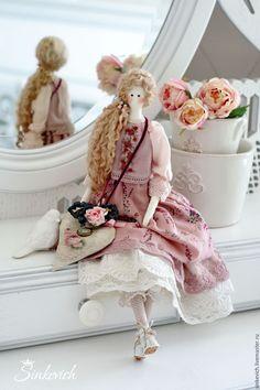 Купить Элизабет - тильда, кукла ручной работы, кукла интерьерная, текстильная кукла, тильда кукла ☆