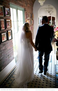 Just married. Image: Peartree Photography.
