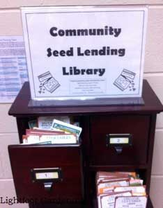 Anyone who gardens has had the experience of having seeds left over after all the planting has been done. And sometimes, we buy seed, then realize we don't have the time, room or energy to plant what we've purchased. Starting a community seed-lending library is one way to share the joy and to spread the word about heirloom seeds and organic gardening. From MOTHER EARTH NEWS magazine.