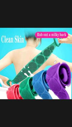 Body Scrubber, Exfoliating Gloves, Rides Front, Bath Brushes, Body Brushing, Clean Pores, Shower Cleaner, Sensitive Skin, Body Scrubs