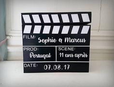Urne Clapet de Cinéma NOIR / BLANC L'INSTANT C