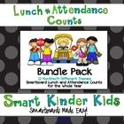 Looking for a fun way to do Lunch Count and Attendance?  This Bundle Pack is a great way to accomplish some of your morning routines while allowing your...