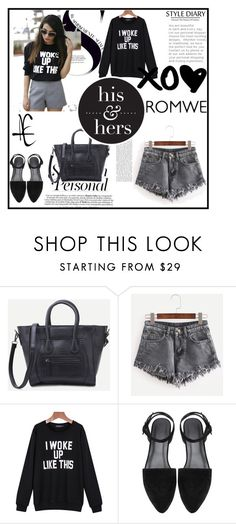 """""""Romwe 1"""" by zerina913 ❤ liked on Polyvore featuring romwe"""