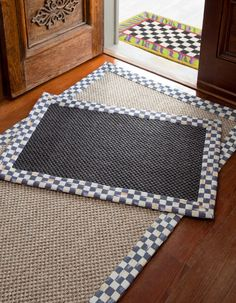 Now our sisal rugs are available in black!