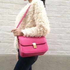 Handbags - Classic box style cross body/ shoulder leather bag