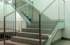 Ganzglasgeländer/Fassadensysteme (Railing)